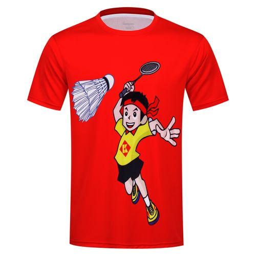 Футболка детская Kumpoo KW-9313J Red