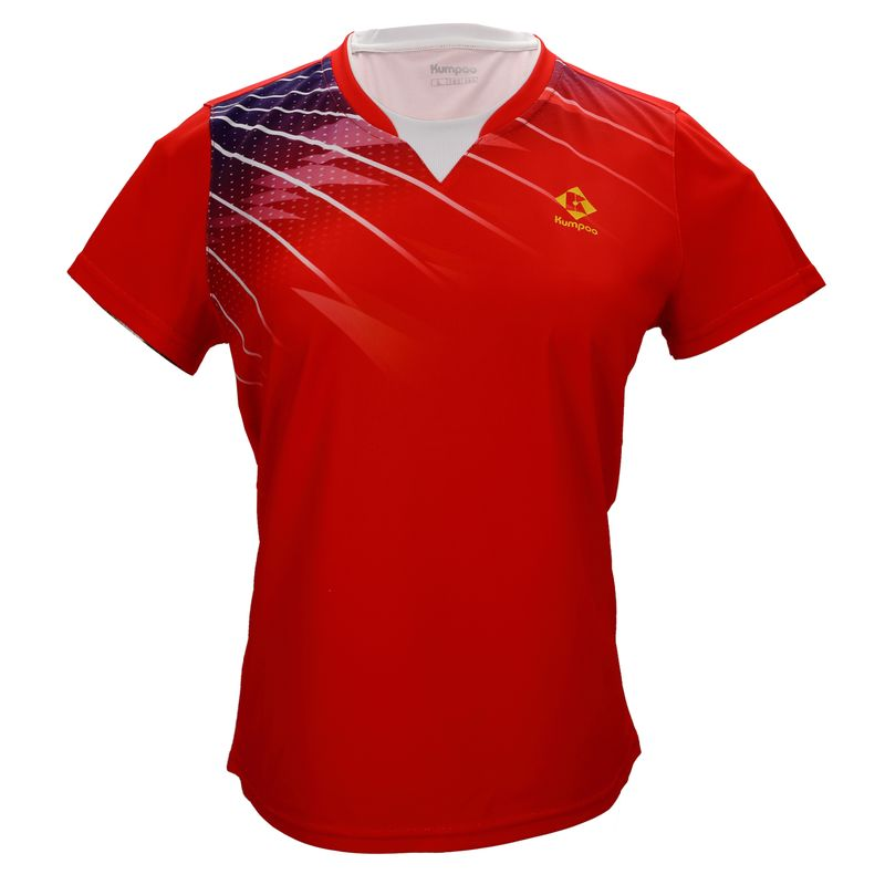 Футболка женская Kumpoo KW-0206 Red