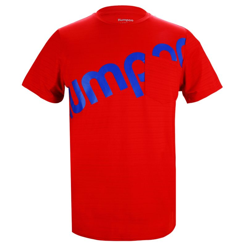 Футболка унисекс Kumpoo KW-006 (Red)