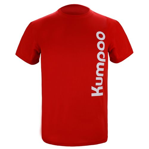 Футболка унисекс Kumpoo KW-009 Red