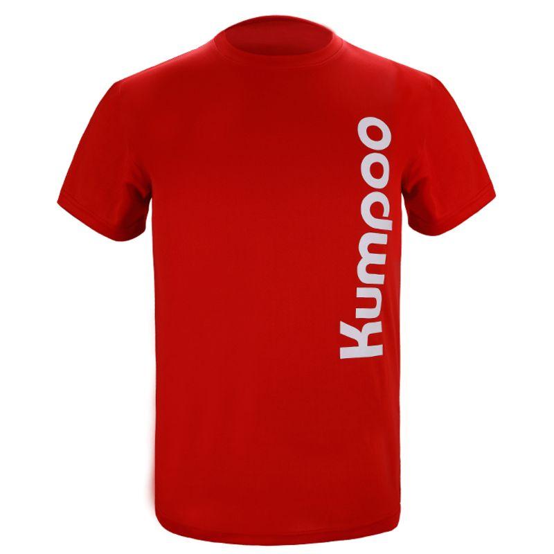 Футболка унисекс Kumpoo KW-009 (Red)