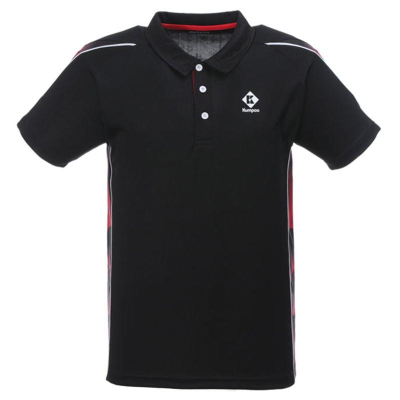 Поло мужское Kumpoo KW-0101 (Black)