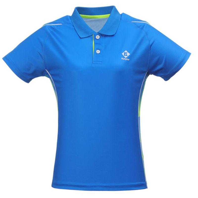 Поло женское Kumpoo KW-0201 (Blue)