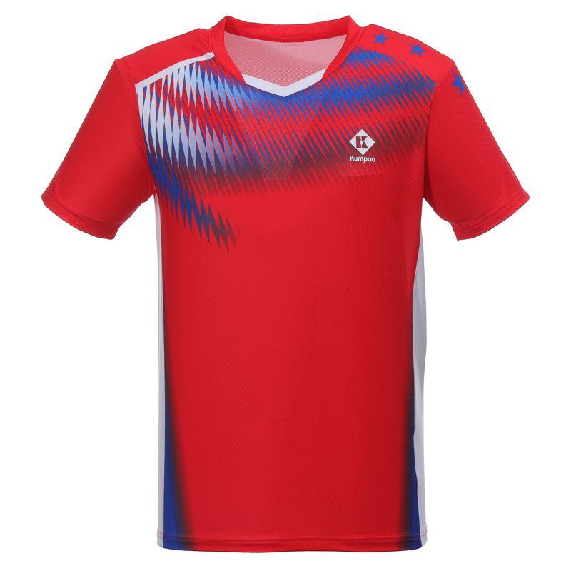 Футболка мужская Kumpoo KW-0108 (Red)