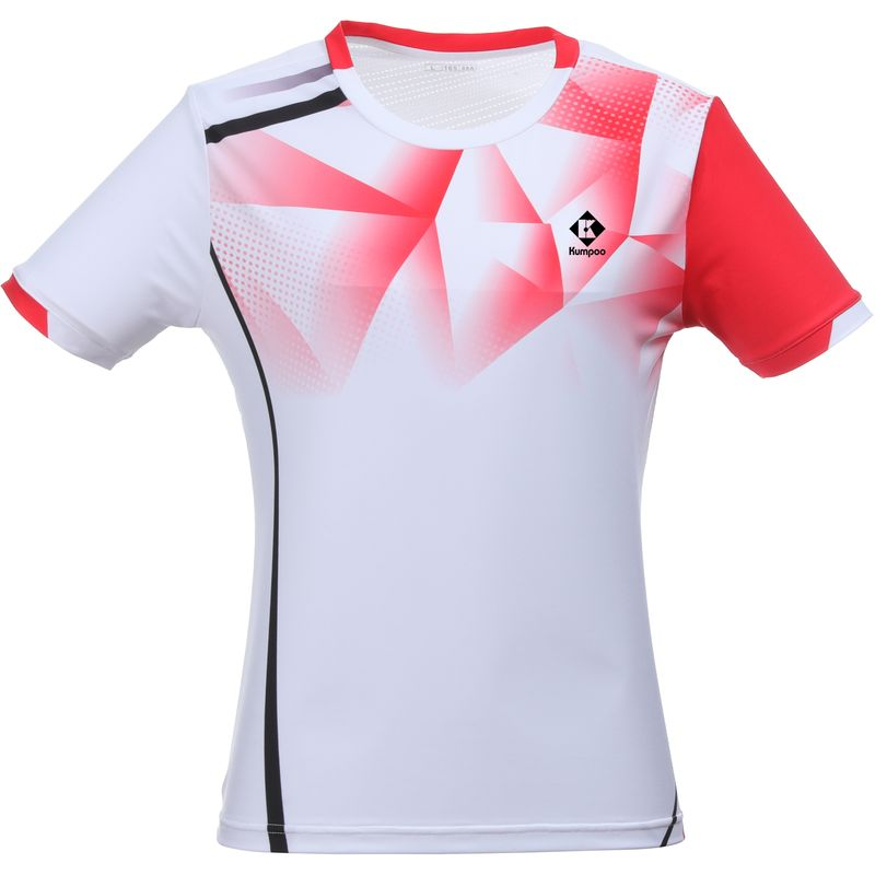 Футболка женская Kumpoo KW-0210 White
