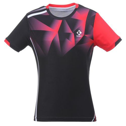 Футболка женская Kumpoo KW-0210 (Black)