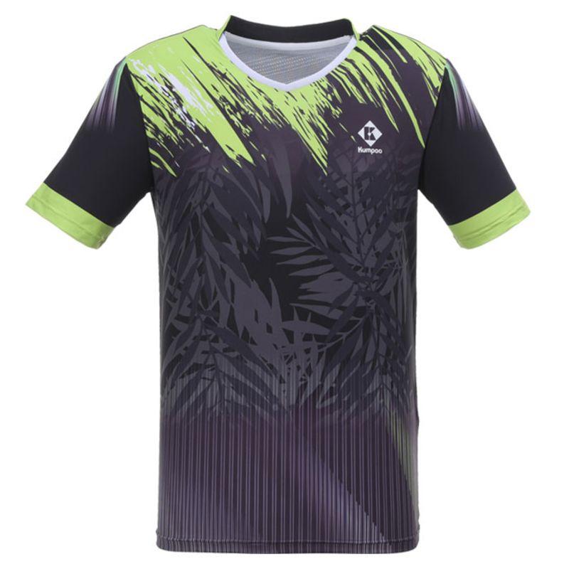 Футболка мужская Kumpoo KW-0112 Black/Green