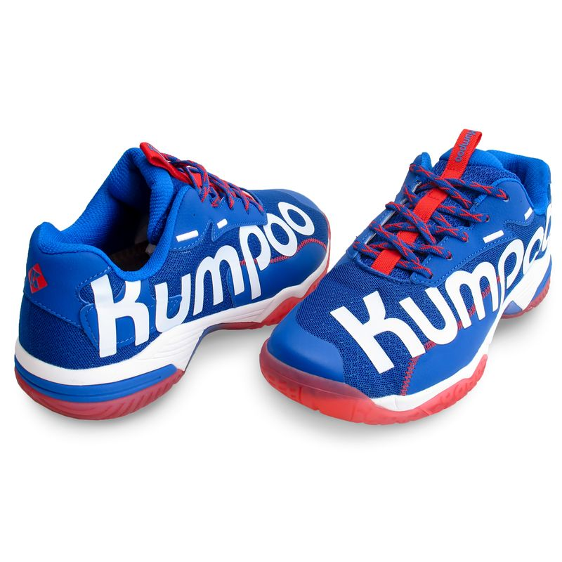 Кроссовки для бадминтона Kumpoo D72 Blue