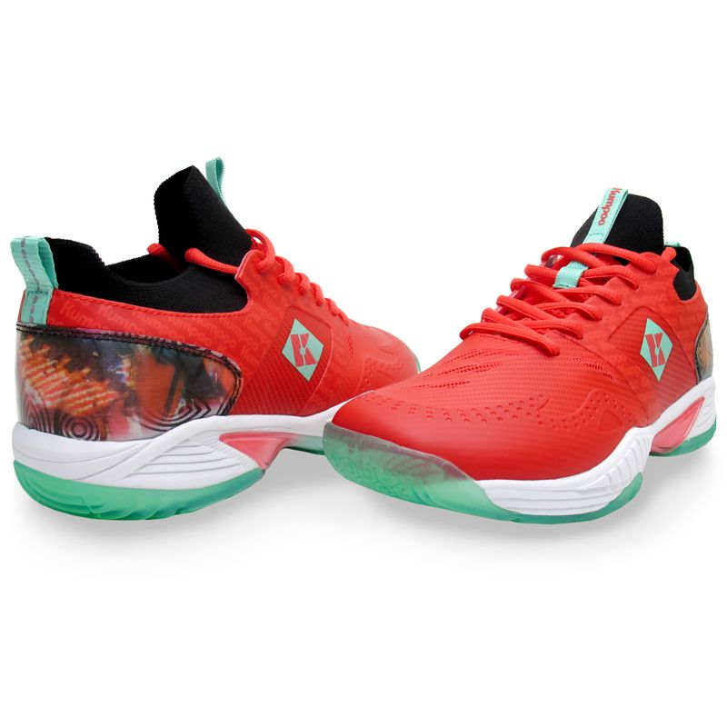 Кроссовки для бадминтона Kumpoo KHR-D83 RED
