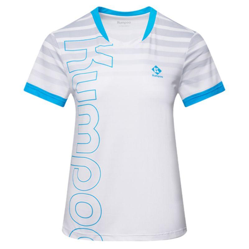 Футболка женская Kumpoo KW-1202 (White/Blue)
