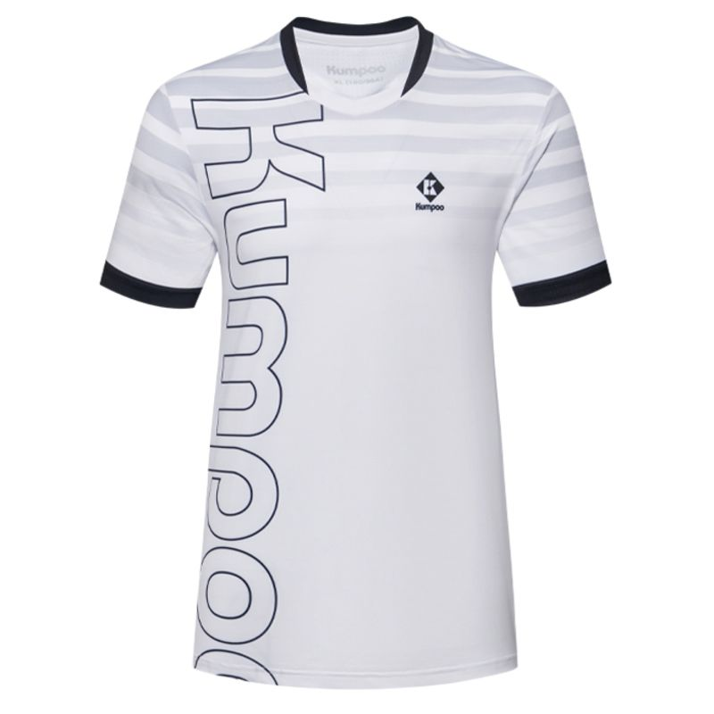 Футболка женская Kumpoo KW-1202 White/Black
