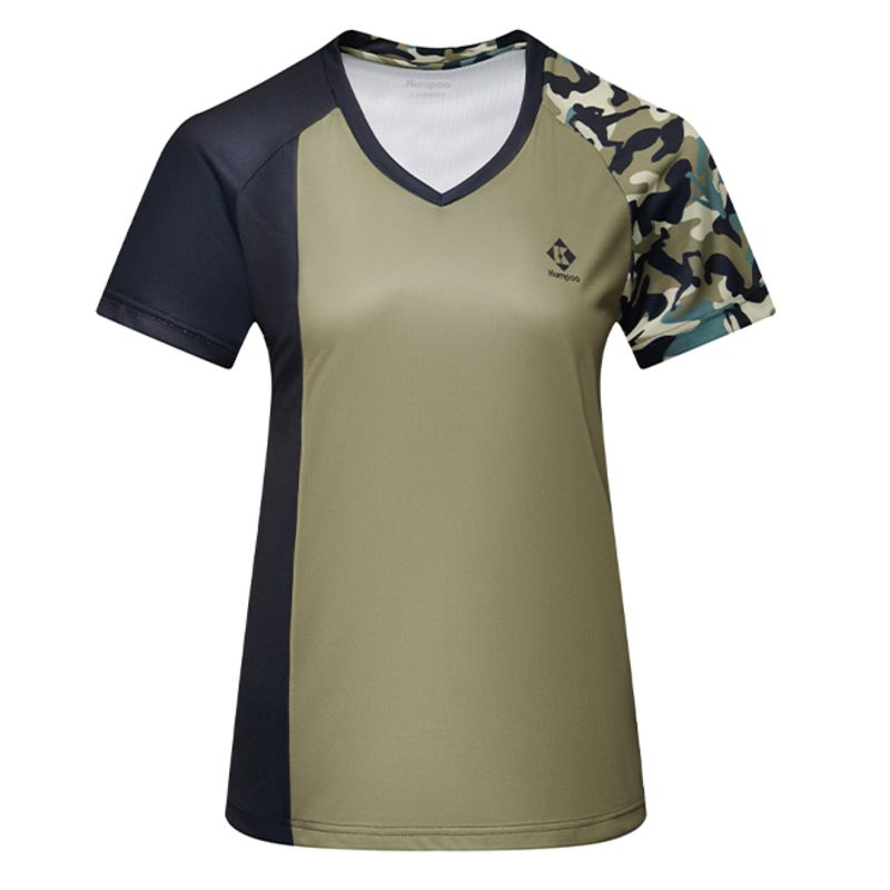 Футболка женская Kumpoo KW-1209 (Military Gray)