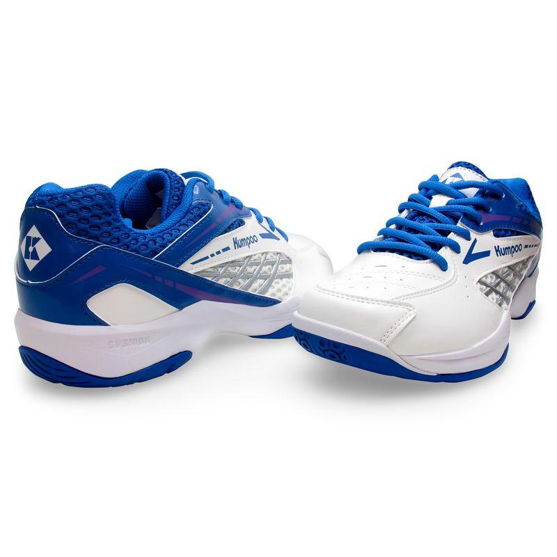 Кроссовки для бадминтона Kumpoo KH-E13 (White/Blue)