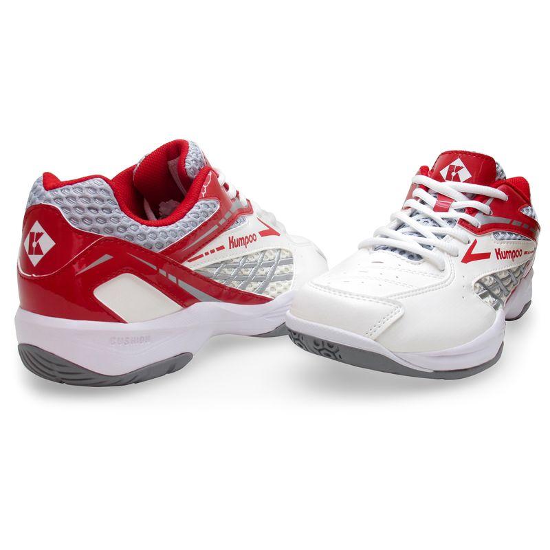 Кроссовки для бадминтона Kumpoo KH-E13 (White/Red)