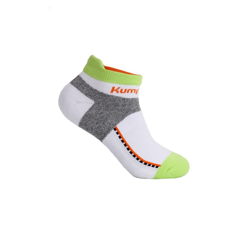 Носки Kumpoo KSO-65M WHITE/GREEN (24-26см)