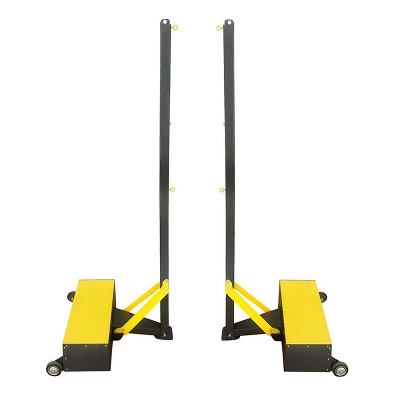Стойки для бадминтона передвижные (противовес 35 кг)